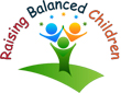 Raising Well-Balanced Children | Raising Happy Healthy Kids Retina Logo